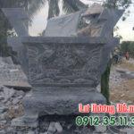 Lư hương đá vuông LD 26